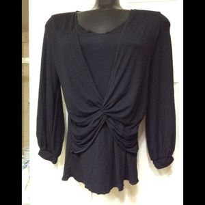 Elegant black top by BCBG MAXAZRIA (8)